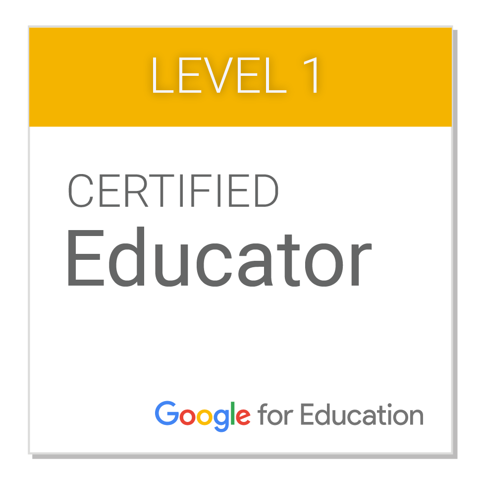 Google Certified Educator Level 1 Mrptech Reviews